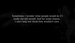 sad suicide killing myself