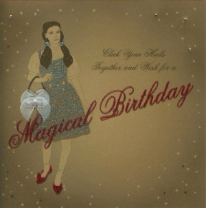 Wizard Of Oz Birthday Card by Five Dollar Shake