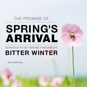 Spring Quotes Selinsky