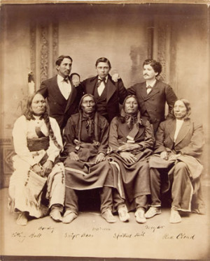 Sioux Delegation of 1875