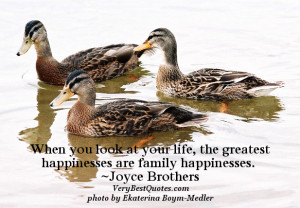 Family quotes, happiness quotes, your life quotes, When you look at ...