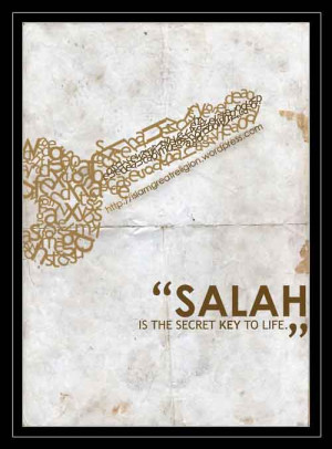 Salah is the Secret Key to Life_Islamic Quotes