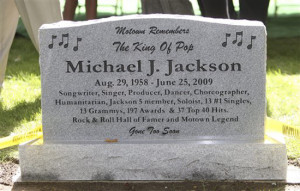 ... Michael Jackson fans who created a shrine on the steps of the museum