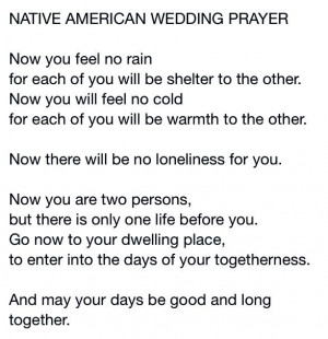 ... American, Native Americans, Future, Native American Wedding Quotes