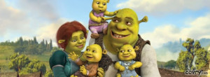 Shrek And Fiona's Babies, Shrek The Final Chapter facebook cover