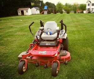 """think you should do the lawn."""""""