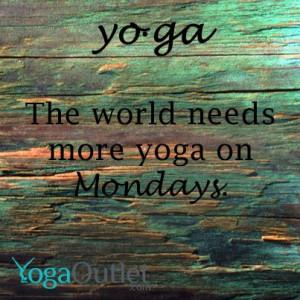 ... Monday :) Do more yoga. #monday #yoga #everyday #enjoy #happiness #