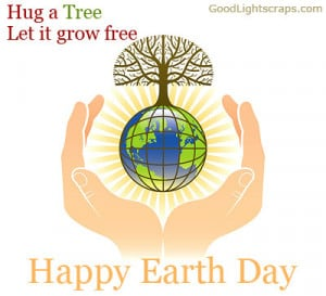 Hug a Tree Let It Grow Free ~ Earth Quote
