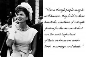Jacqueline Onassis Quotes