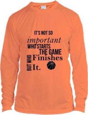Motivational basketball quote shirt