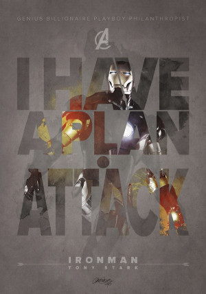 Cool Graphic Posters Of Memorable Quotes From 'The Avengers'