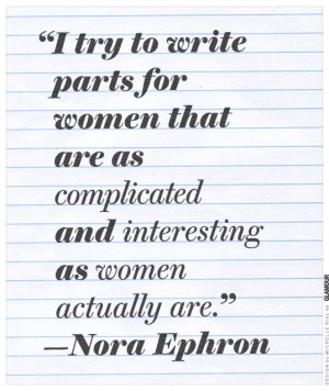 Memorial: Nora Ephron Quotes and Movies