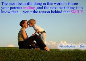 Quotes,Beautiful Quotes, Parent Quotes, Smile Quotes,Parents Quotes ...
