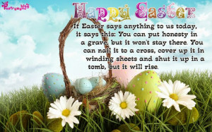 Easter Day Greeting Quotes Image