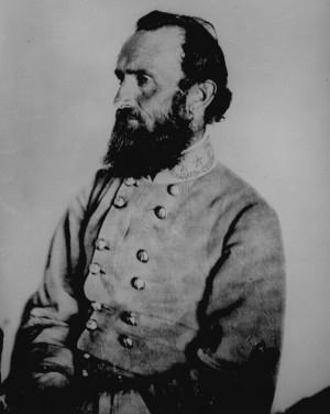 Portrait of General Thomas Jonathan 'Stonewall' Jackson
