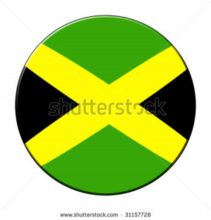 Stock Photo Jamaican Flag