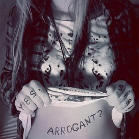 Arrogant Quotes & Sayings