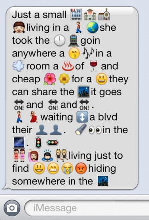 emoji quotes   EMOJI SONGS TUMBLR