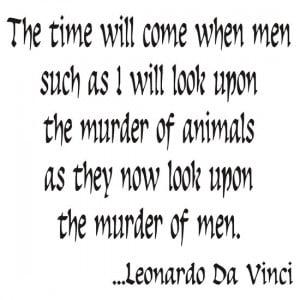 ShirtsGifts › Portfolio › Vegetarian Quote Leonardo Da Vinci