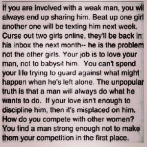 So truth! Know your worth Ladies!