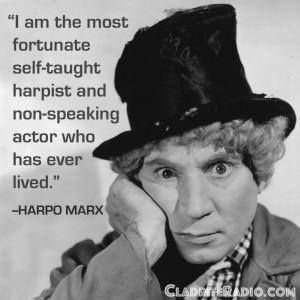 Harpo Marx Quotes