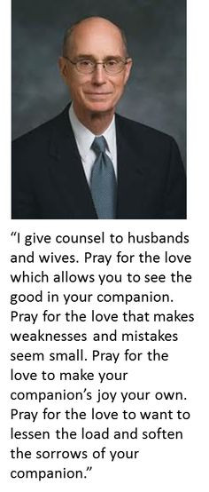 Henry B Eyring on Marriage More