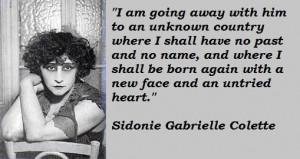 Sidonie gabrielle colette famous quotes 2