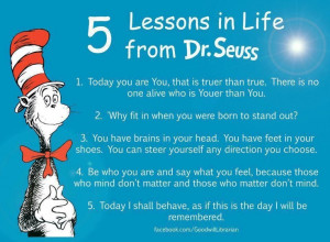 Dr. Seuss is a genius in many ways