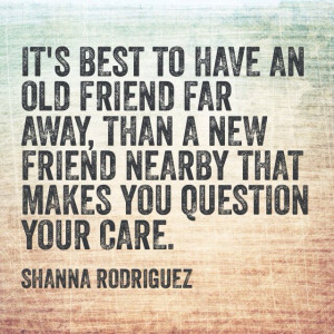 Quote About Old Friends New