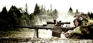 Barrett 50 Cal Sniper Rifle