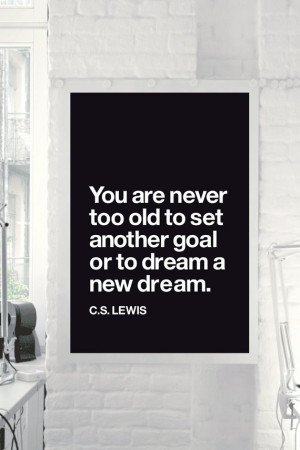 Quote Motivational Print Art Wall Decor