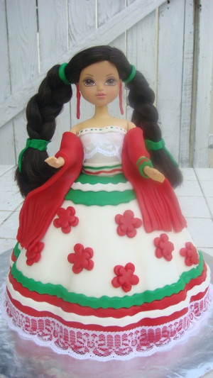 traditional mexican birthday cake