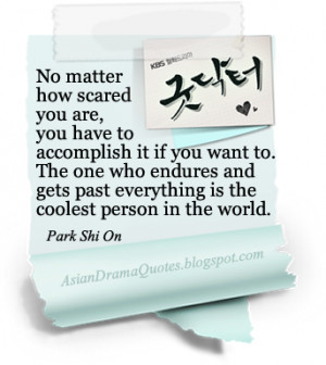 Korean Drama Quotes - Good Doctor (2013)