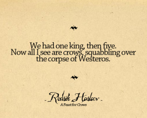 Song of Ice and Fire Quotes