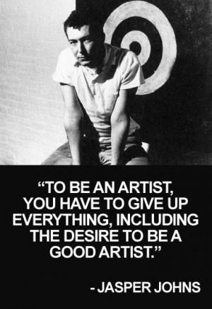 Jasper Johns (1930-present) periods: mixed media, modern art, pop art ...