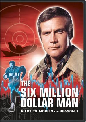 Lee Majors as the bionic Steve Austin