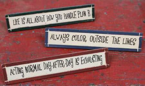Primitive Signs and Sayings