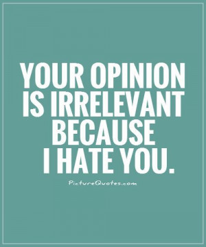 your-opinion-is-irrelevant-because-i-hate-you-quote-1.jpg
