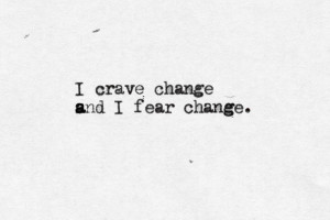 crave and fear change