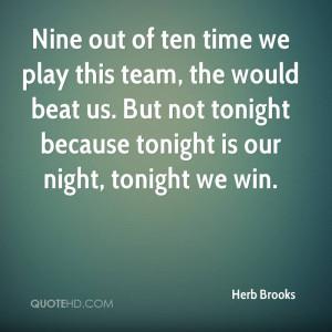 Herb Brooks Speech Quote Herb Brooks Quotes Herb brooks