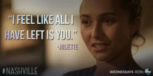Juliette Barnes quote episode 2x14
