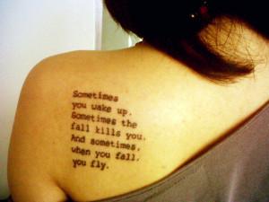 Flying Tattoo