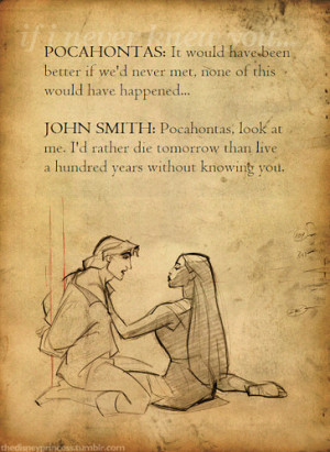 cartoon, disney, love, pocahontas, quotes