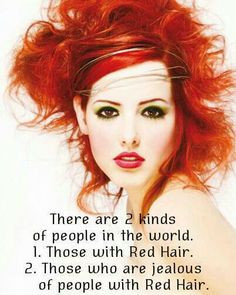 proud to be a redhead