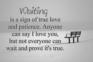 Patience Quotes HD Wallpaper 7