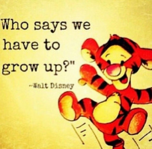 Walt Disney quote .