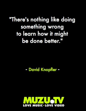 Life tips from David Knopfler guitar player from the critically ...