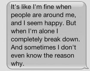 im not fine please help me