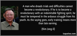 kim jong il quotes great ideology creates great times kim jong il