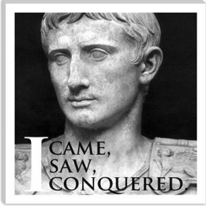 Julius Caesar Quote Canvas Print